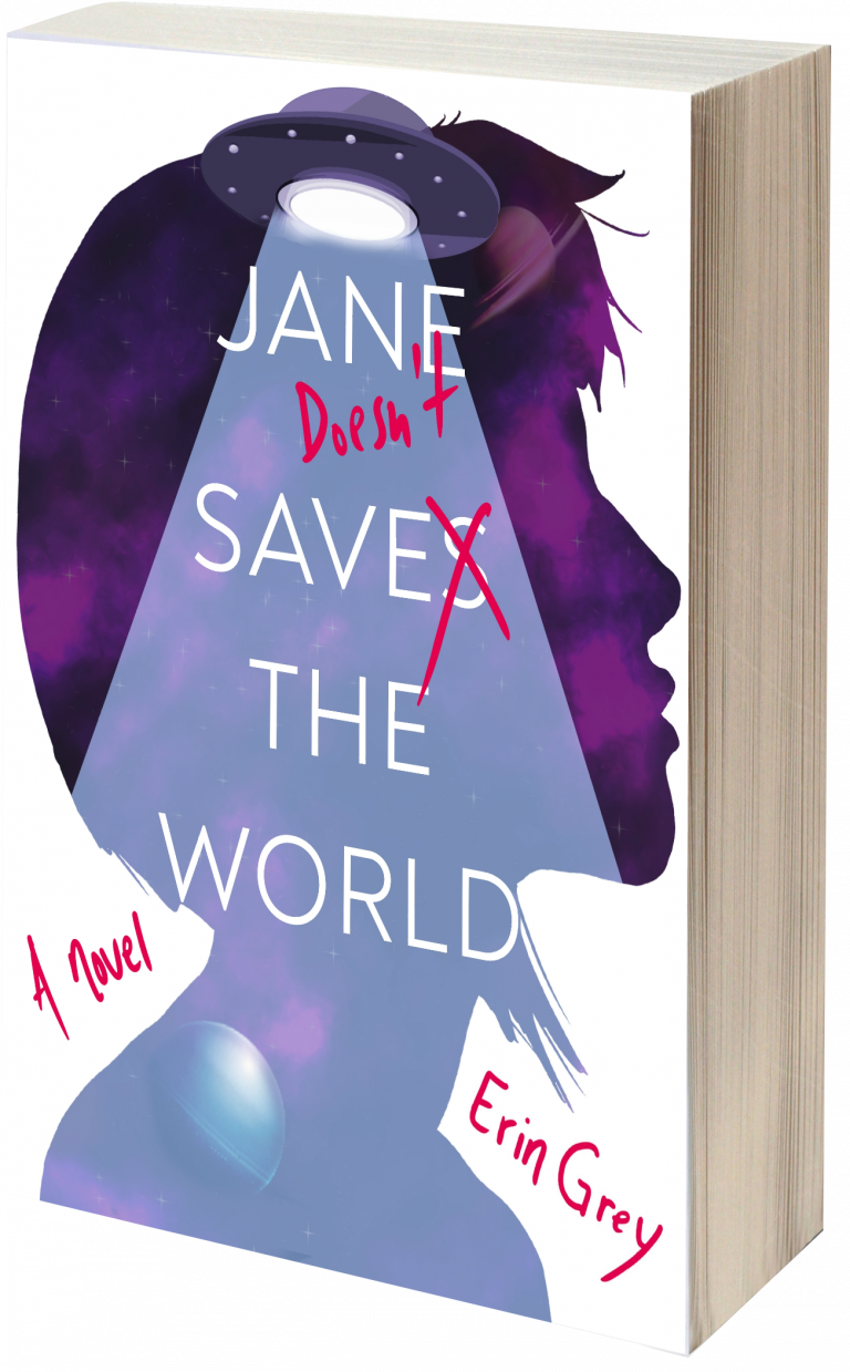 Jane Doesn't Save the World book cover